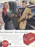 1949 Cocal cola - vintage ad
