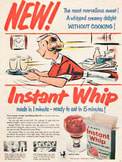 1955 Bir's Instant Whip - vintage ad